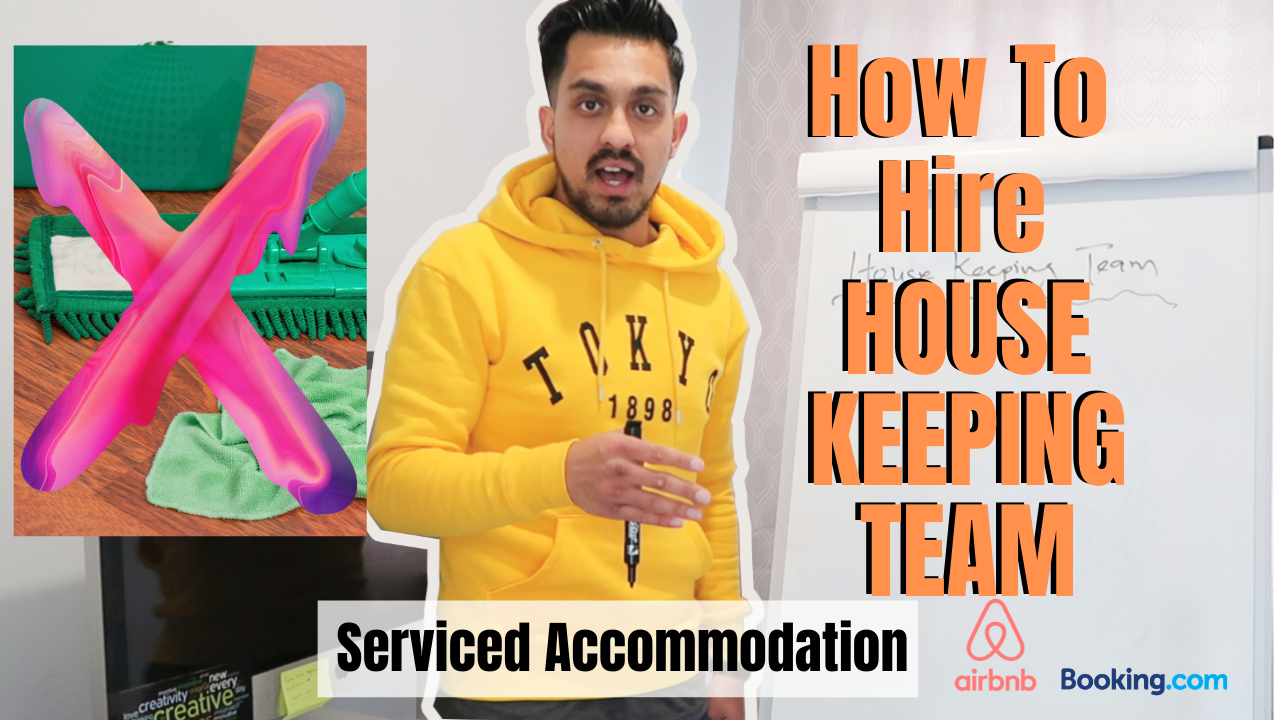 How To Hire House Keeping Team in Serviced Accommodation Business