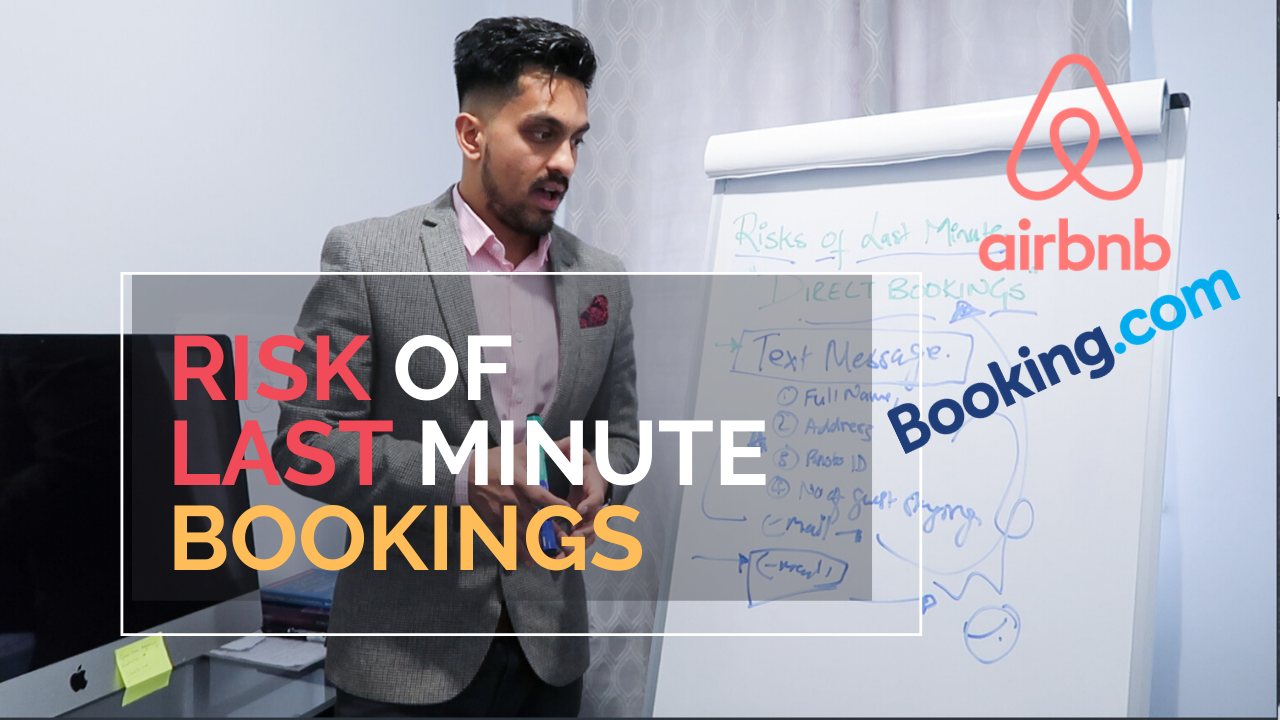 Risk of Last Minute Direct Bookings I Serviced Accommodation UK I How to handle I Property Investing