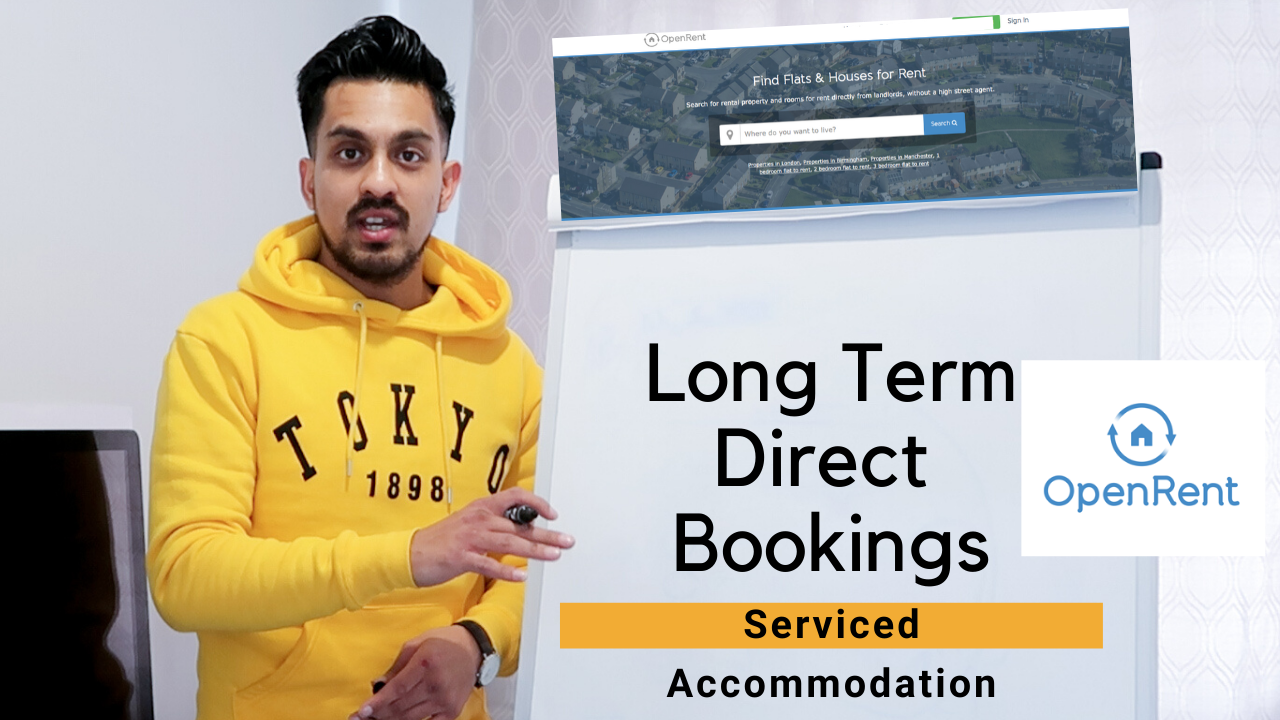 100% Occupancy Strategy I Attract Long Term Direct Booking For Serviced Accommodation I Open Rent UK